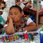 Dreaming Woman Izamal