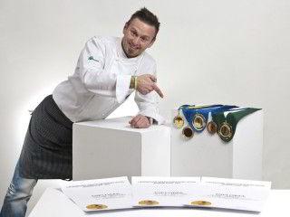 Culinary master Iztok Gumzej